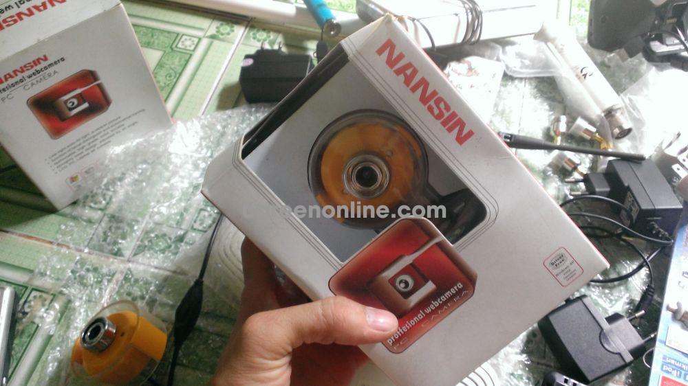 Webcam NANSIN T9 chính hãng, chất lượng cao, cắm là chạy, không cần driver, siêu khuyến mãi