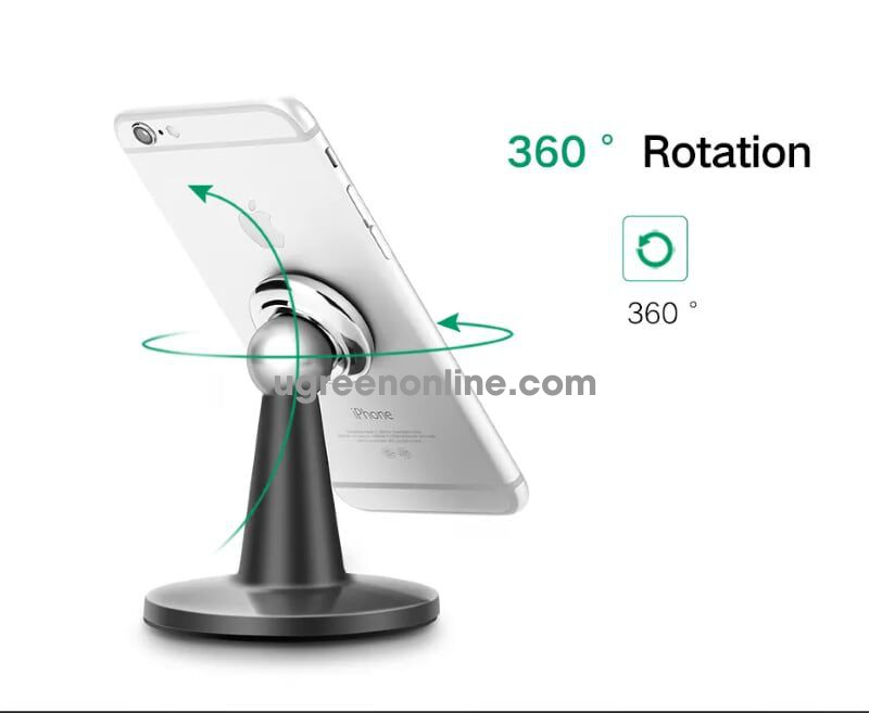 Ugreen 30937 360 Degree Rotation Magnetic Desk Holder Stand 30937
