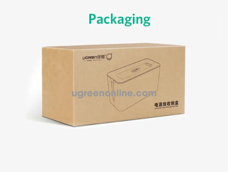 Ugreen 30397 Size S 27X12X13Cm Universal Cable Wire Management Box Lp110