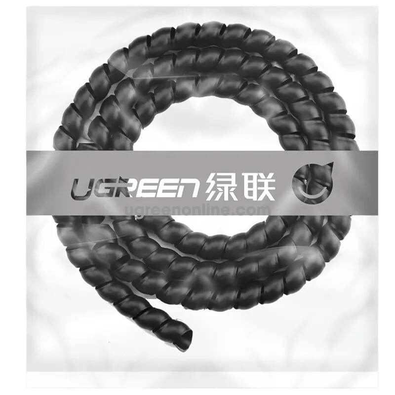 Ugreen 30821 5M 10mm Cable Tube Wire Organizer Managemer Winder LP122