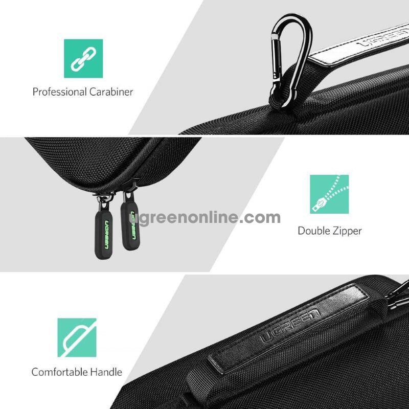 Ugreen 50276 Nintendo Switch Anti Shock Case Travel Bag Large 405X75X186Mm Lp145