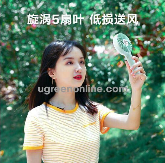 Ugreen 50724 Blue 3250 Mah Quạt Cầm Tay Pin Trâu Portable Handheld Fan Lp149