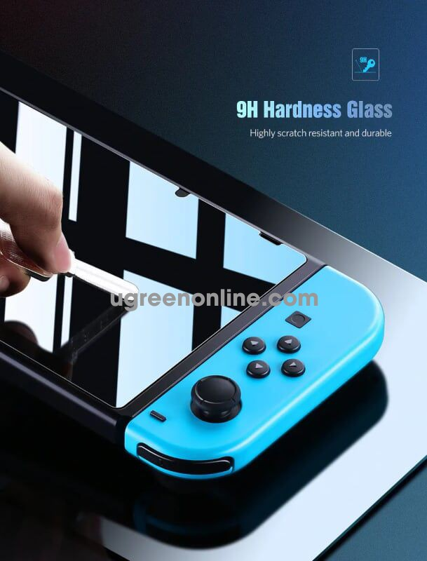 Ugreen 50728 Screen Protector For Nintend Switch 9H Tempered Glass Film Lp153