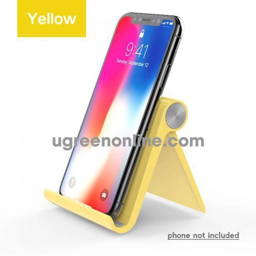 Ugreen 20807 Yellow Multi Angle Adjustable Portable Phone Stand Lp106