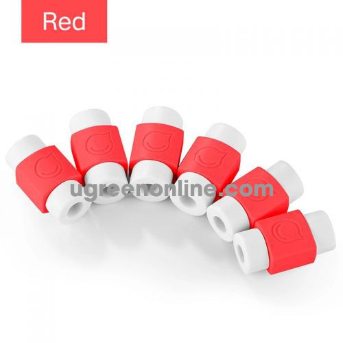 Ugreen 40955 Red Data Cable Tail Protection Sleeve Lp127