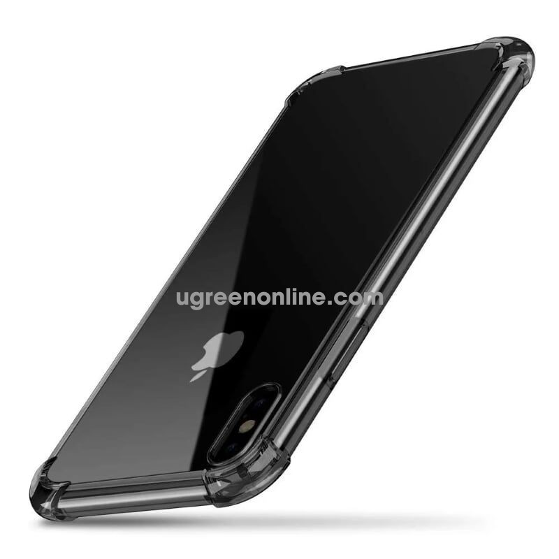 Ugreen 50798 Case For Iphone (Iphone X) Đen Trong Suốt Lp159