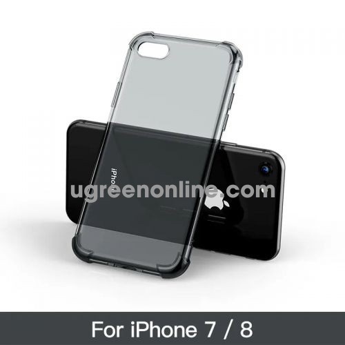 Ugreen 50796 Case For Iphone (7/8) Đen Trong Suốt Lp159