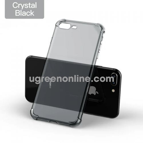 Ugreen 50797 Case For Iphone (7+/8+) Đen Trong Suốt Lp159