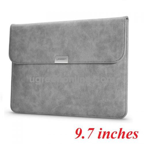 Ugreen 60983 9.7 inches gray sleeve case storage bag for ipad and tablet 60983
