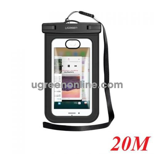 Ugreen 50919 Túi đựng điện thoại chống nước tiêu chuẩn IPX 8 độ sâu 20m trong suốt cho màn hình từ 4 đến 6.5 inch 50919 10050919