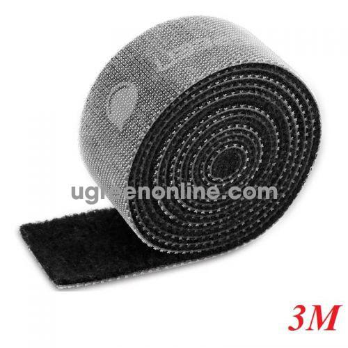 Ugreen 40355 3M Velcro Cable Organizer Black Lp124
