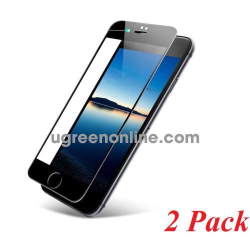 Ugreen 60373 iphone 7 - 8 màu đen 2 miếng dán cường lực bảo vệ HD SP113 10060373