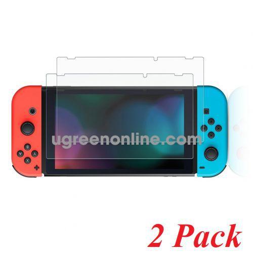 Ugreen 70975 Nintendo Switch Lite 2 miếng Kính cường lực trong suốt cho máy game độ cứng 9H SP139 10070975