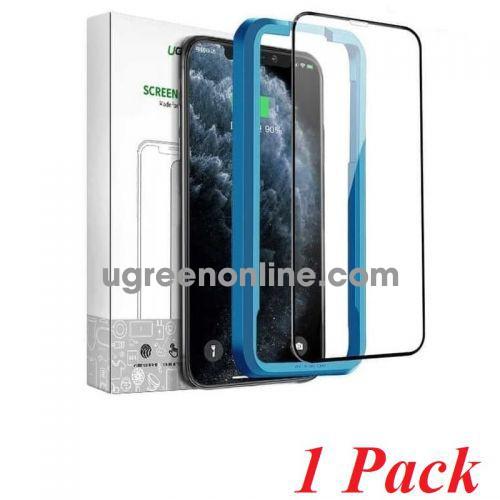 Ugreen 80461 Iphone 11 pro max 6.1inch 1 miếng dán kính cường lực bảo vệ 3D SP141 10070986