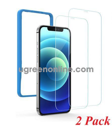 Ugreen 20336 iPhone 12 5.4inch 2 miếng dán kính cường lực bảo vệ SP158 10020336