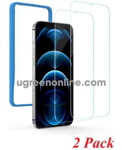 Ugreen 20337 iPhone12 Pro 6.1inch 2 miếng dán kính cường lực bảo vệ SP159 10020337