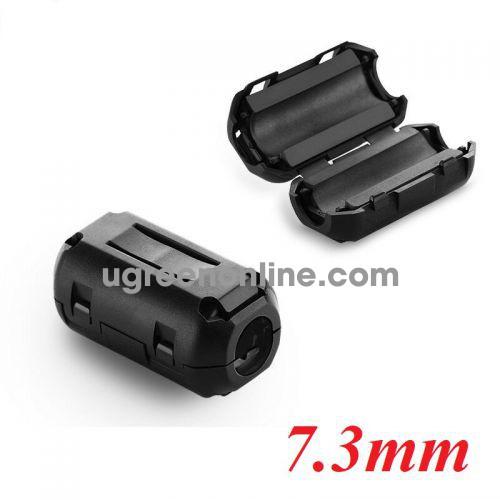 Ugreen 20306 7.3mm cục chống nhiễu điện từ Lọc dòng Core ZJ301 10020306