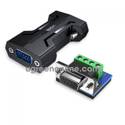 Ugreen 80110 RS232 To RS485 black adapter converter CM261 10080110