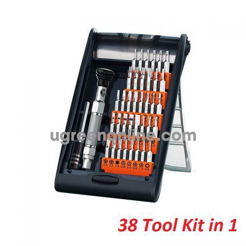 Ugreen 80459 38 in 1 clack Aluminum Alloy Screwdriver Set CM372 10080459