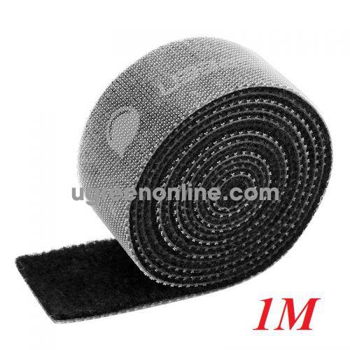 Ugreen 40353 1M Velcro Cable Organizer Black LP124