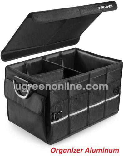 Ugreen 80710 Multifunctional Car Storage Box Trunk Organizer Aluminum Alloy LP256 10080710