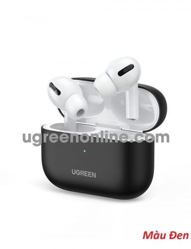 Ugreen 80513 Black Liquid Silicone Case for Airpods Pro Protective Cover LP324 10080513