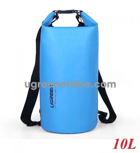 Ugreen 70112 Blue 10L Waterproof Dry Shoulder Bag ED034