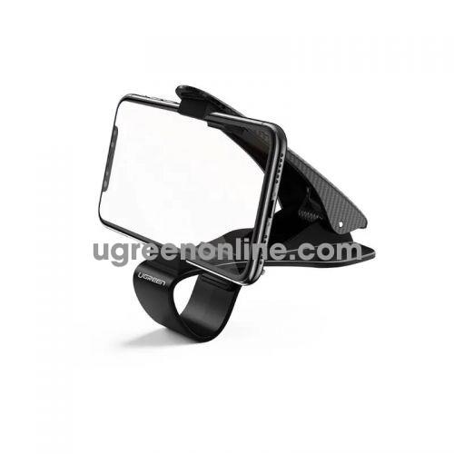 Ugreen 60328 Black Dashboard Phone Mount Clip Car Dash Mobile Holder HUD Safe Driving Cradle Stand Compatible for 4-6.5 inch LP136