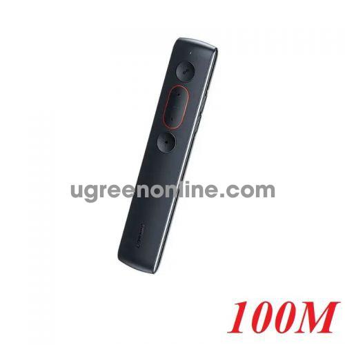 Ugreen 60327 100M Black Remote Wireless Presenter LP180