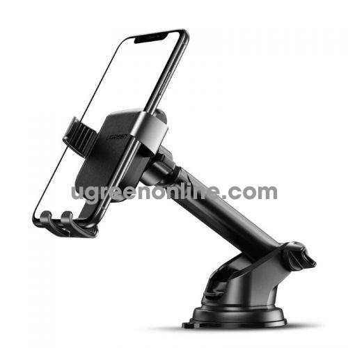 Ugreen 60990 Black Car Mount Cell Phone Holder Dashboard Windshield Smartphone Cradle Strong Suction LP200
