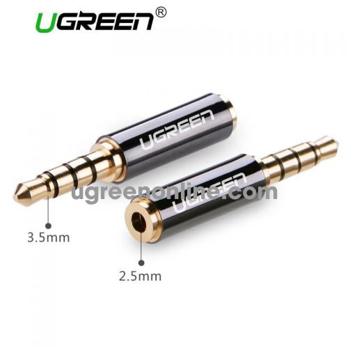 Ugreen 20502 3.5Mm Male To 2.5Mm Female Adapter 20502 10020502