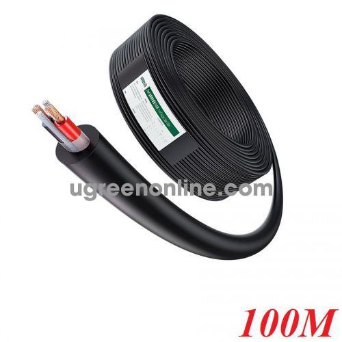 Ugreen 80163 100m 2C x 1.0mm² Black Professional Outdoor Audio Engineering Line AV159 10080163