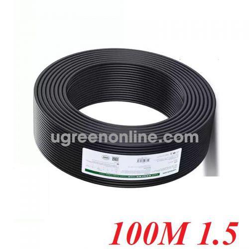 Ugreen 80164 100m 2C x 1.5mm² Black Professional Outdoor Audio Engineering Line AV159 10080164