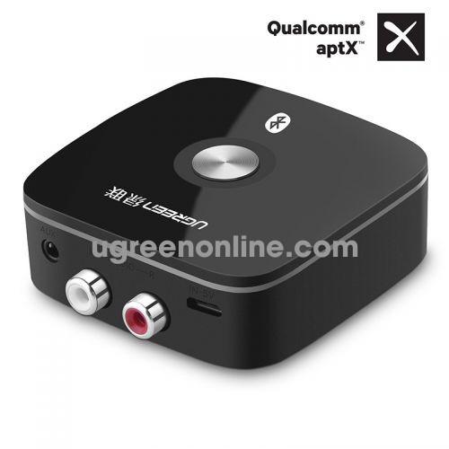 Ugreen 40759 APTX SRRC BQB Bluetooth Receiver Đầu Ra 3.5mm + RCA CM106