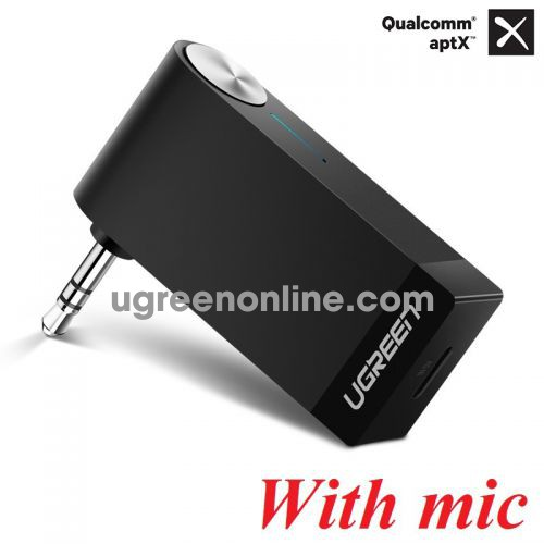 Ugreen 40757 Aptx Micro Pin 120mah Bộ Nhận Âm Thanh Bluetooth Receiver CM124