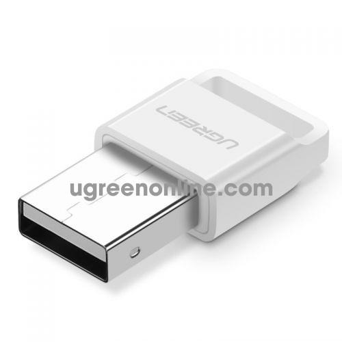 Ugreen 30443 White USB Bluetooth 4.0 Hỗ Trợ Chuẩn APTX Support Win 10 US192