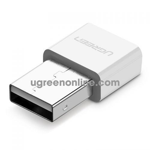 Ugreen 30723 USB Bluetooth 4.0 Hỗ Trợ Chuẩn APTX Support Win 10 White US192