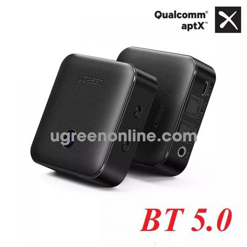Ugreen 50958 Version 5.0 Optical x2 3.5mm Bluetooth Transmitter & Receiver cm144 10050958