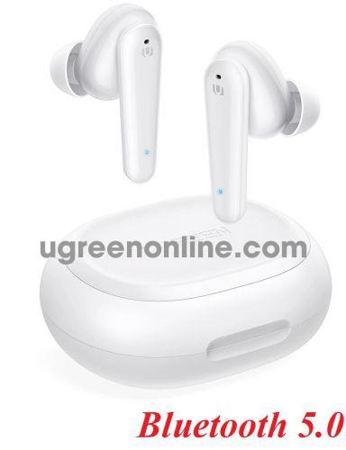 Ugreen 80650 5.0 Bluetooth White Hitune T1 True Wireless Earbuds WS111 10080650