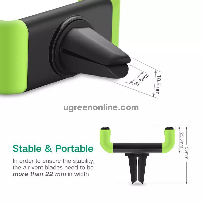 Ugreen 30750 360 Air Vent Mount Phone Holder Kẹp Điện Thoại Trên Xe Hơi LP120 - TEL 0902302321