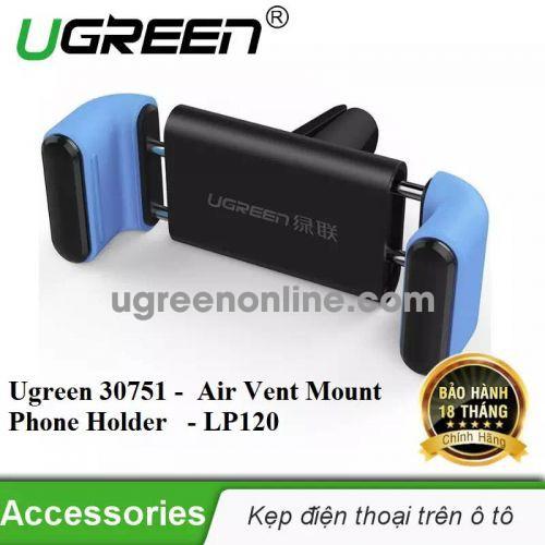 Ugreen 30751 360 Air Vent Mount Phone Holder Kẹp Điện Thoại Trên Xe Hơi Lp120