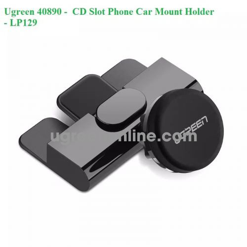 Ugreen 40890 Cd Dvd Slot Magnetic 360 Degree Car Mount Mobile Holder Lp129 10040890