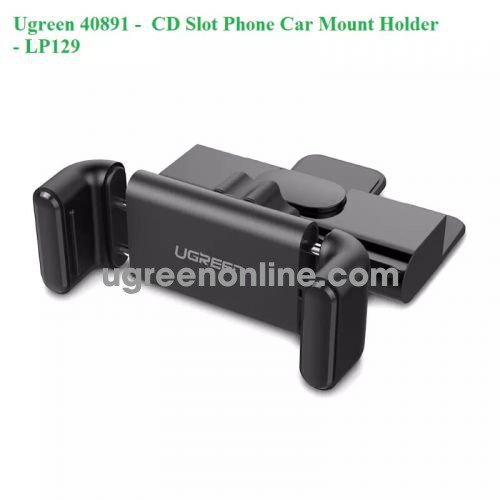 Ugreen 40891 Cd Dvd Slot 360 Degree Car Mount Mobile Holder Kẹp Ô Tô Lp129 10040891
