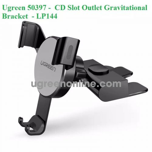 Ugreen 50397 Gravitational Bracket Phone Holder Cd Dvd Slot Outlet Lp144