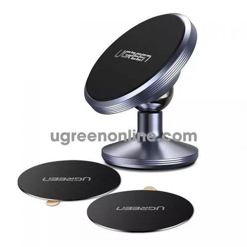 Ugreen 60216 Magnetic Air Vent Car Mount Phone Holder Giá Đỡ Từ Tính Màu Xám Lp117 10060216