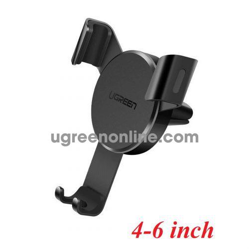 Ugreen 40907 4 - 6inch Black Gravity Drive Air Vent Mount Phone Holder LP130 10040907
