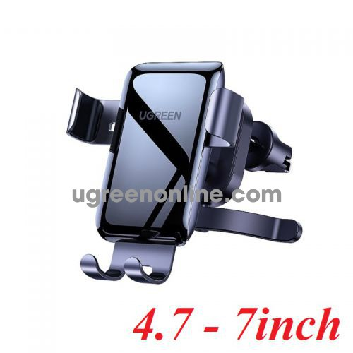 Ugreen 10131 4.7 - 7inch 360 Rotating Gray Gravity Phone Holder for Car LP274 10010131