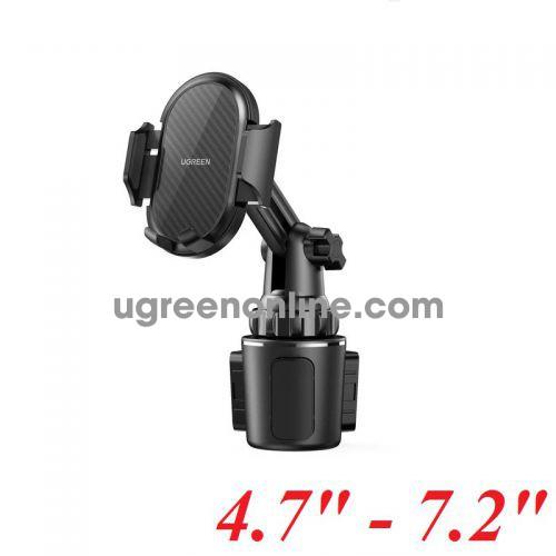 Ugreen 10995 4.7 - 7.2inch Black Car Cup Holder Phone Mount LP335 10010995
