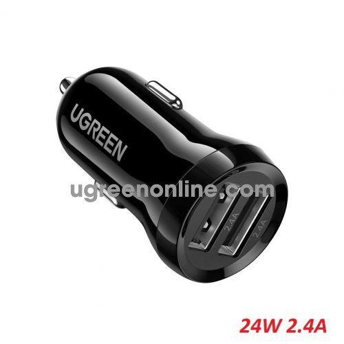 Ugreen 50875 24W Dual USB Car Charger ED018 10050875