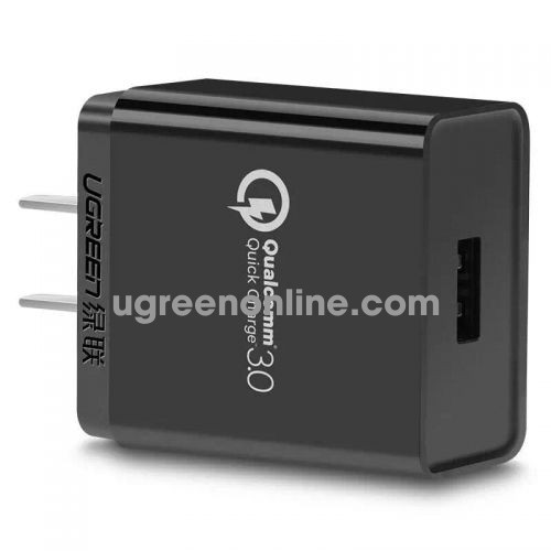 Ugreen 20838 3.0 30W Quick Charge Usb Charger Sạc Nhanh Qc3.0 Black Cd122